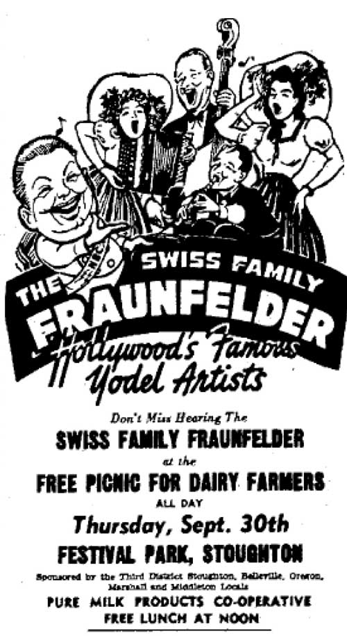 Wisconsin State Journal Ad, 1948
