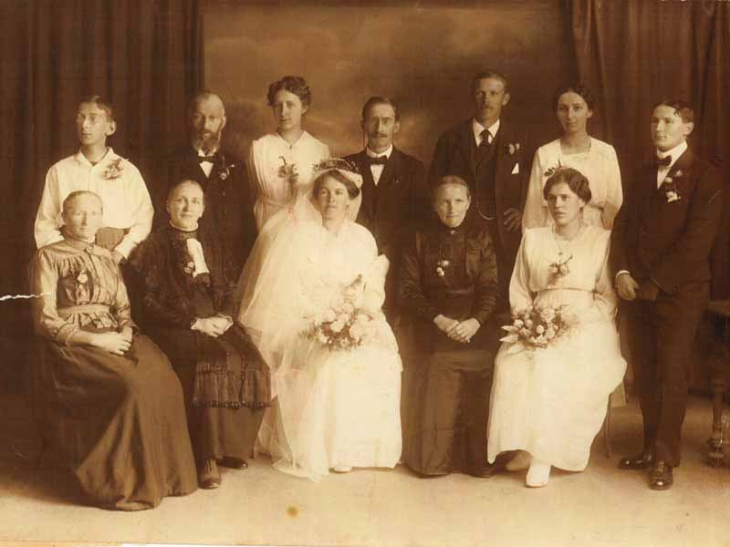 Mama & Papa Frauenfelder Wedding, 1918