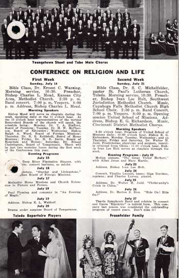 Religion and Life Brochure, 1940